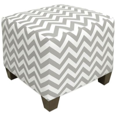 Skyline Furniture Square Ottoman Baby Playroom