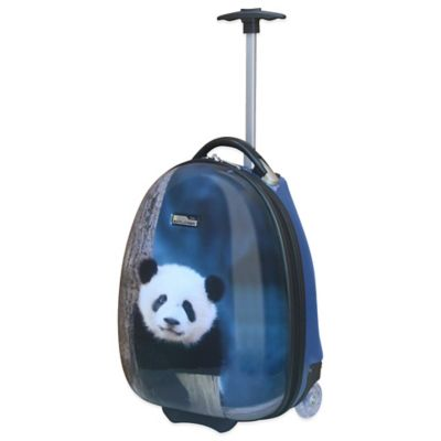TravelPro® National Geographic 16-Inch Rolling Panda Luggage in Blue