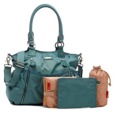 Storksak® Olivia Diaper Bag in Teal