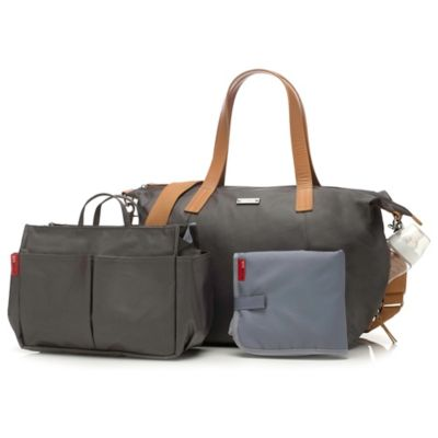 Storksak® Noa Diaper Bag in Grey