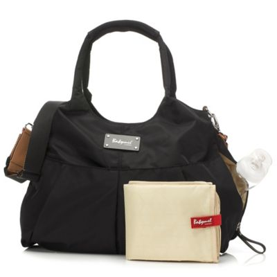 Babymel™ Zahra Diaper Bag in Black