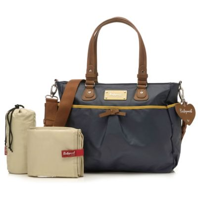 Babymel™ Lily Diaper Bag in Navy