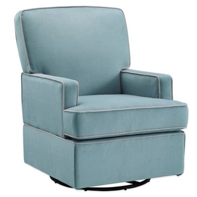 Bebe Confort® Lyon Swivel Glider in Aqua Blue