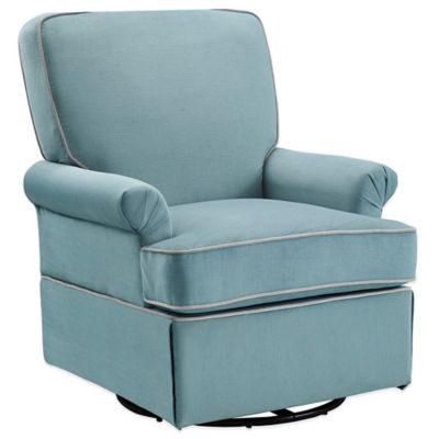 Bebe Confort® Barcelona Swivel Glider in Aqua Blue