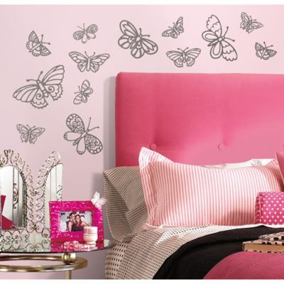 Silver Wall Decals