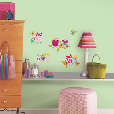 RoomMates Zutano Owls Wall Decals