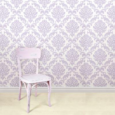 Purple Peel & Stick Wallpaper
