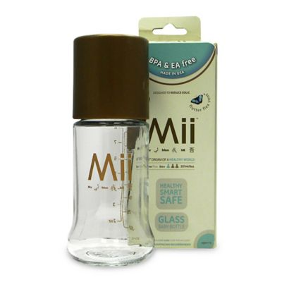 Mii™ 8 oz. Glass Nurser Bottle in Brown