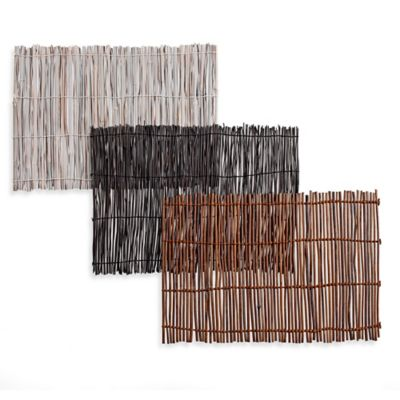 Dark Brown Bamboo Placemat