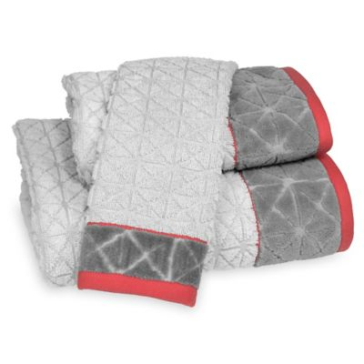 DKNY Gridlock Bath Towel