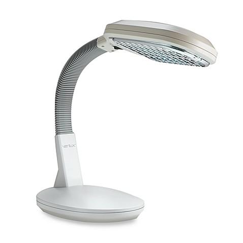verilux original natural spectrum deluxe ivory desk lamp. Black Bedroom Furniture Sets. Home Design Ideas