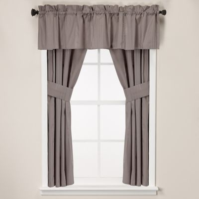 Wamsutta® Classic Stripe Window Curtain Tier Pair