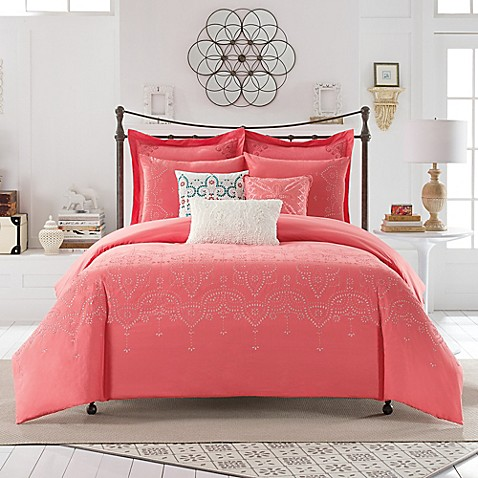 Buy Anthology Scarlet Twin Xl Comforter Set In Coral From