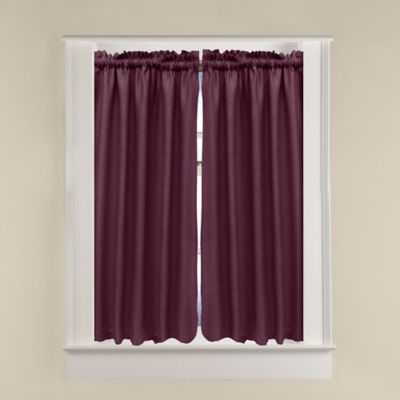 Soho Window Curtain Tier Pair