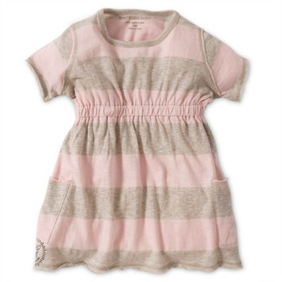 Burt's Bees Baby™ Size 2T Organic Cotton Rugby Stripe Dress