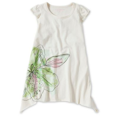 Burt's Bees Baby™ Size 3T Watercolor Azalea Organic Cotton Dress