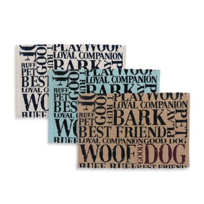 Park B. Smith Good Dog Pet Mat in Grey