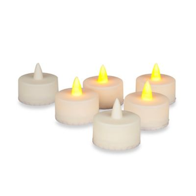 LED Indoor/Outdoor Tealights (Set of 6)