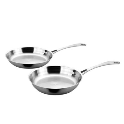 BergHOFF® 2-Piece Copper Clad Fry Pan Set