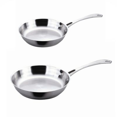 BergHOFF® 2-Piece 8-Inch and 12-Inch Copper Clad Fry Pan Set