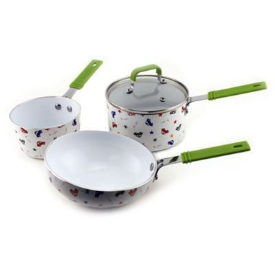 BergHOFF® Children's 4-Piece Cookware Set for Boys