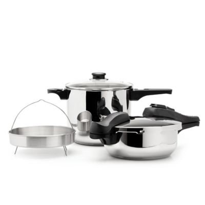 BergHOFF® 5-Piece Pressure Cooker Set