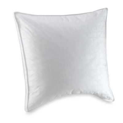 White Goose Feather European Square Pillow