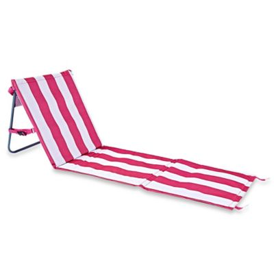 Buy Resort Striped Folding Wood Beach Chair From Bed Bath