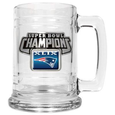 NFL New England Patriots Super Bowl XLIX Champions Tankard
