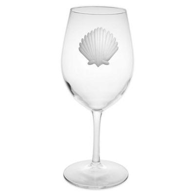 Seashell All-Purpose Wine Glasses (Set of 4)