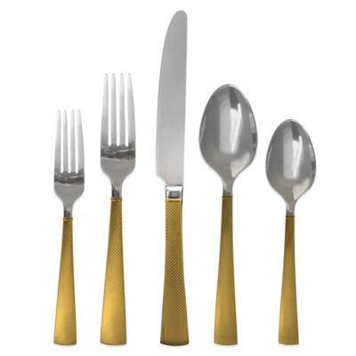 Hampton Forge Broadway 20-Piece Flatware Set