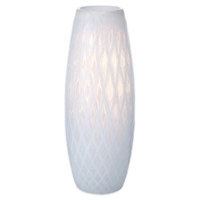 Mikasa® Artisan Series White Whisper Diamond Vase