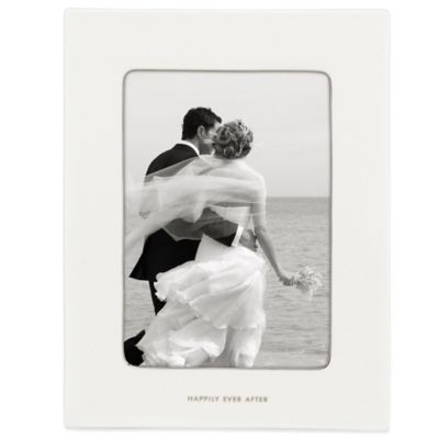 kate spade new york Take the Cake 5-Inch x 7-Inch Porcelain Picture Frame