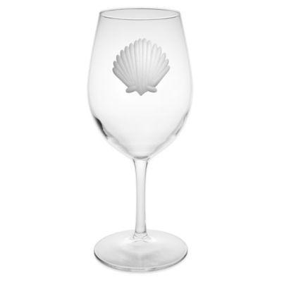 Seashell All-Purpose Wine Glasses
