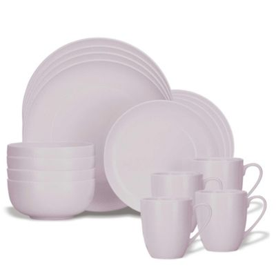 Lenox® Largo 16-Piece Dinnerware Set in Wisteria