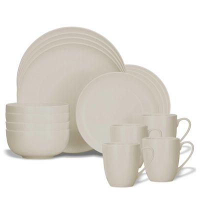 Lenox® Largo 16-Piece Dinnerware Set in Sand