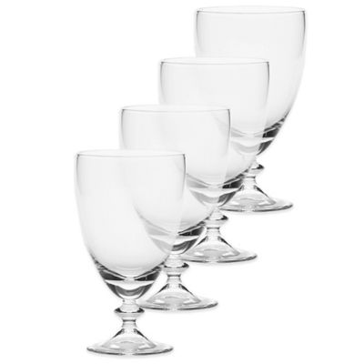 Mikasa® Ridgefield All Purpose Glasses in Clear (Set of 4)