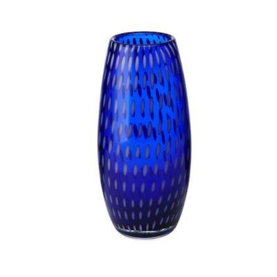 Mikasa® Artisan 9.5-Inch Confetti Vase in Cobalt