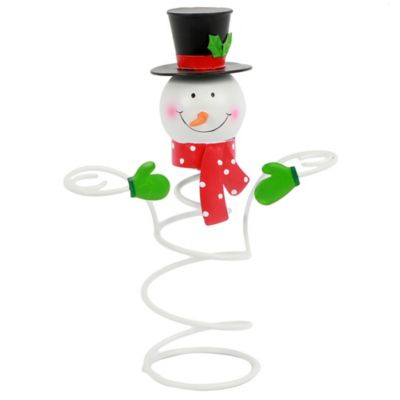 Snowman Bottle Topper/Wine Glass Holder