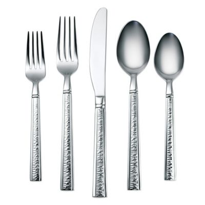 Harper Mirror 45-Piece Flatware Set