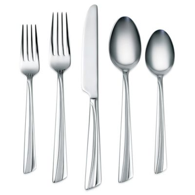 Corelle® by Cambridge Laina Frost 45-Piece Flatware Set