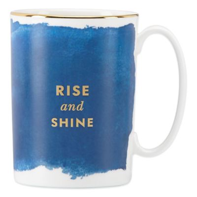Blue Gold Coffee Mug