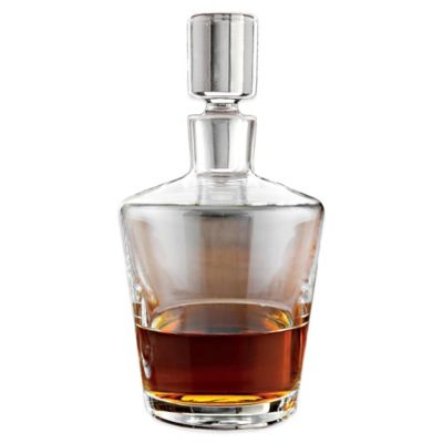 Wine Enthusiast® Ambassador Glass Whiskey Decanter