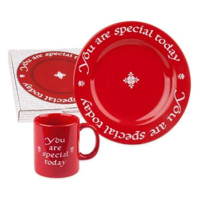 "Waechtersbach ""You Are Special Today"" Mug and Plate Set"