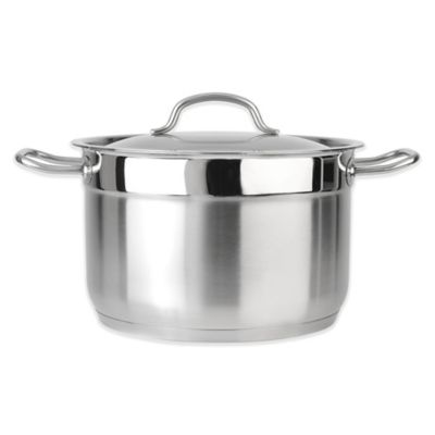 Cooks Stainless Steel Covered Stockpots Specialty Cookware