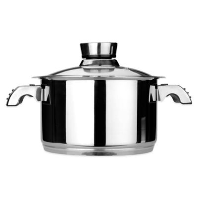 BergHOFF® Invico Vitrum 7 qt. Covered Stock Pot