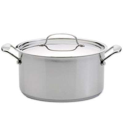 Premium 8 Qt. Covered Stockpot