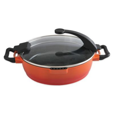 BergHOFF® Virgo 11-Inch 2-Handle Covered Deep Skillet