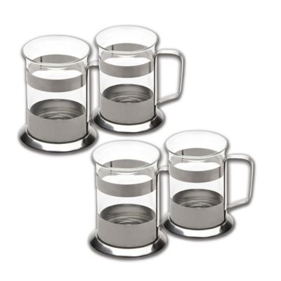 BergHOFF® Studio 6.75 oz. Glass Coffee Cup (Set of 4)