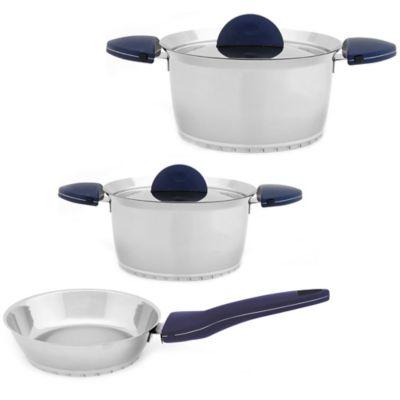 Blue Kitchen Cookware